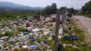 Divlja deponija na lokalitetu Crni vrh